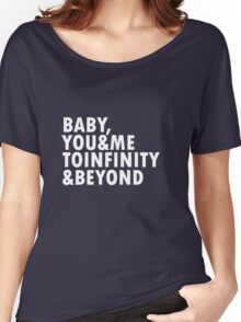 To Infinity & Beyond Women's Relaxed Fit T-Shirt