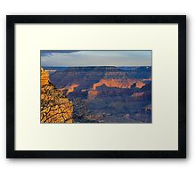 Canyon Evening Framed Print
