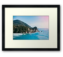 Cape Falcon Framed Print