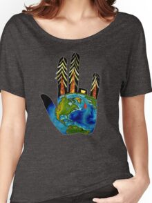 Poorly Earth. Women's Relaxed Fit T-Shirt