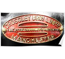 Crossley Brothers Ltd Poster