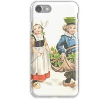 Victorian Christmas 3 iPhone Case/Skin