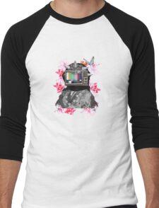 Berberes flowers Men's Baseball ¾ T-Shirt