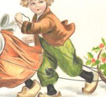 Victorian Christmas 4 Sticker