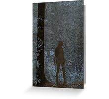 Huntress Argent Greeting Card