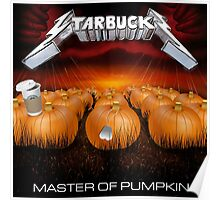 MASTER OF PUMPKIN (spice) Poster
