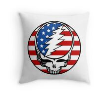 Steal your Flag Throw Pillow