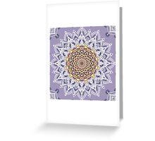 MARIGOLD MANDALA Greeting Card