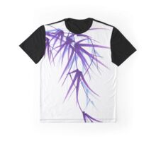Summer - Lavender bamboo sumie brush painting Graphic T-Shirt
