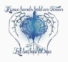 If your hands held an Ocean Kids Tee