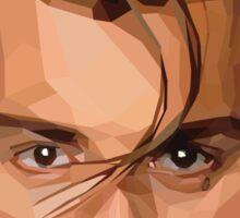 Crybaby Johnny Depp Geometric Graphic Sticker