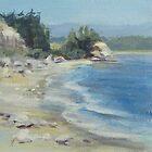 Coastal Inlet by Karen Ilari