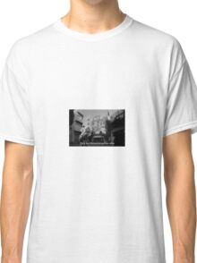 Lomography white and black photo with text Only my dream keeps me alive Classic T-Shirt