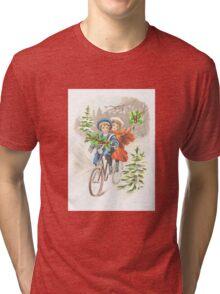 Victorian Christmas 10 Tri-blend T-Shirt