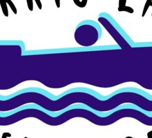 NORRIS LAKE TENNESSEE OVAL BOAT BOATING HOUSEBOAT EURO Sticker