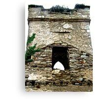 The Tower of St. Columba's Church, Clonmany, Donegal, Ireland Canvas Print