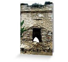 The Tower of St. Columba's Church, Clonmany, Donegal, Ireland Greeting Card