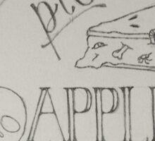Halloween Typography  Sticker