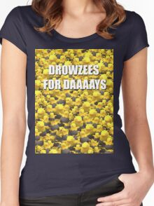 Drowzees for days 2 Women's Fitted Scoop T-Shirt