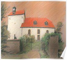 Dorfkirche von Bechstedtstraß Poster