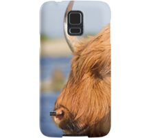 Highland Cattle in Oare Marshes, Kent Samsung Galaxy Case/Skin