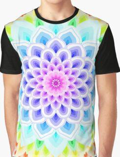 RAINBOW MANDALA Graphic T-Shirt