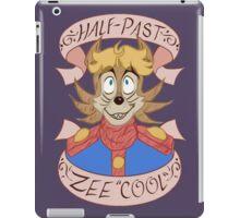 "Half-Past Zee ""Cool"" iPad Case/Skin"