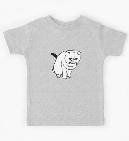 Mr Inspector Cat Kids Tee