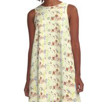 Whimsical Creatures A-Line Dress