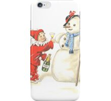 Victorian New Year's Eve iPhone Case/Skin