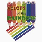 Rainbow Color  Pencils (1639 Views) by aldona