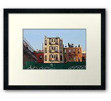 Brooklyn Neighborhood Framed Print
