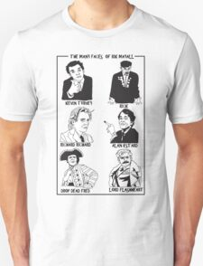 The many faces of Rik Mayall Unisex T-Shirt