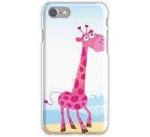 Giraffes in Love. Vector Illustration iPhone Case/Skin