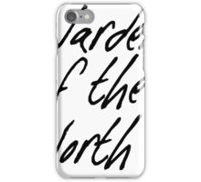 Warden of the North iPhone Case/Skin