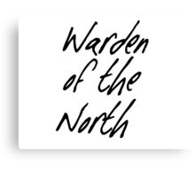 Warden of the North Canvas Print
