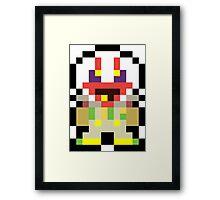 Pixel Dropsy Framed Print