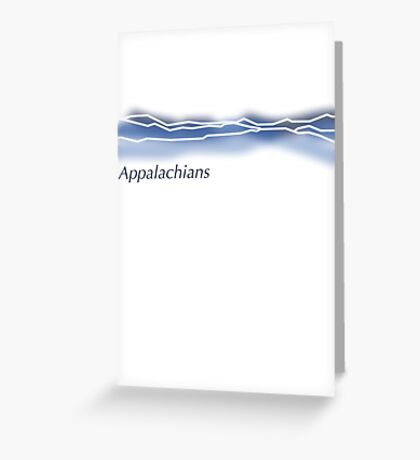 Appalachian Mountains Greeting Card