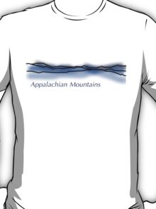 Appalachian Mountain Range T-Shirt