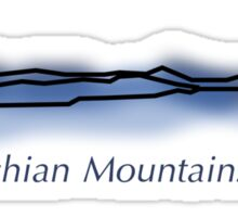 Appalachian Mountain Range Sticker