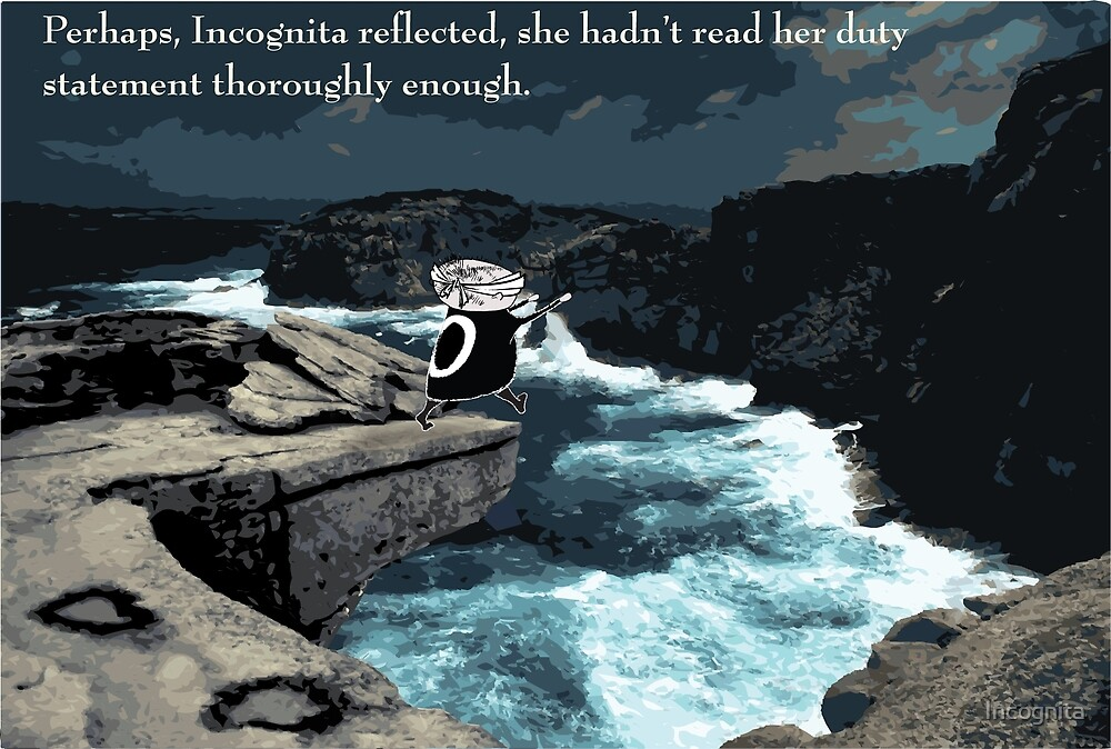 It wasn't long before Cog realised that she wasn't suited to corporate life by Incognita