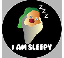 I AM SLEEPY  Photographic Print