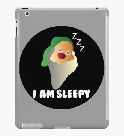 I AM SLEEPY  iPad Case/Skin