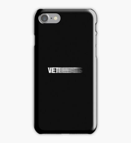 Vetements Motion Logo iPhone Case/Skin