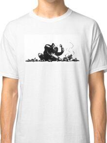 A gorilla eating BBQ Classic T-Shirt
