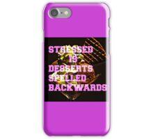 DESSERTS iPhone Case/Skin