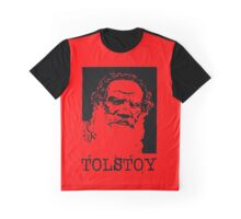 LEO TOLSTOY Graphic T-Shirt