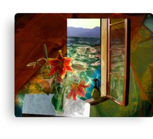 Colours Changing Hue Canvas Print