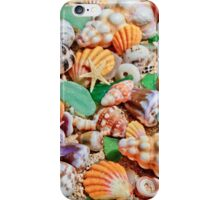 Seashells by the Seashore iPhone Case/Skin