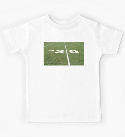 Football Field Thirty Kids Tee